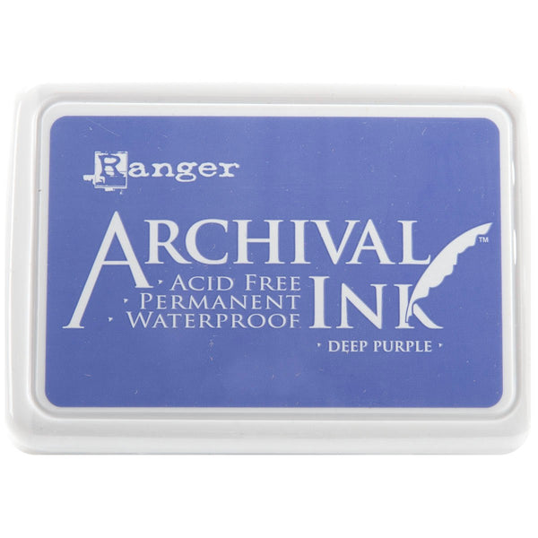 Archival Ink Pad #0-Deep Purple