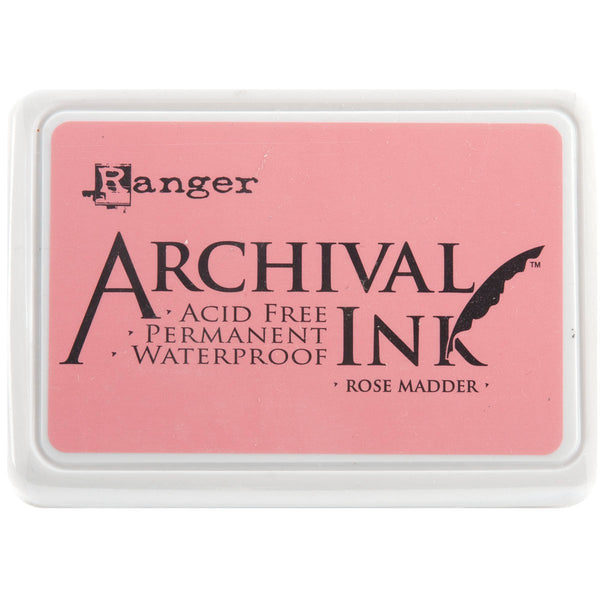 Archival Ink Pad #0-Rose Madder