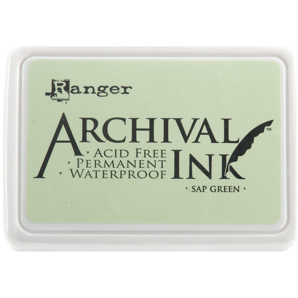 Archival Ink Pad #0-Sap Green