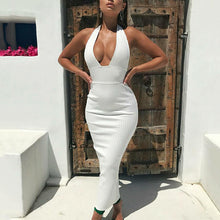 Sexy Backless Knitted Pencil Dress