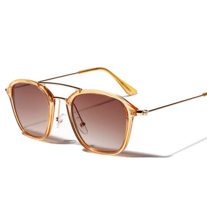 Translucent Rectangle Sunglasses