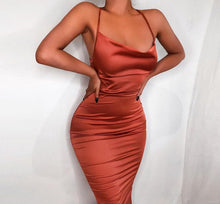 Body Melt Satin Dress