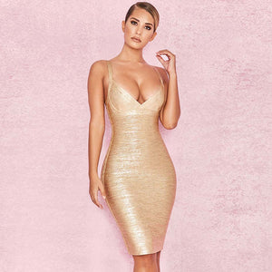 Golden Lady Dress