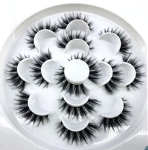 New 7 Pairs of 3d Mink Lashes