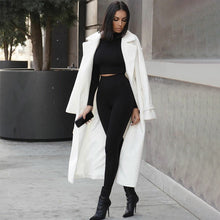 Two Piece Bodycon Tracksuit Set