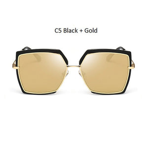 Large Mirror Frame Sunglasses