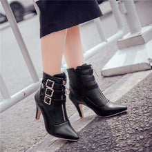 Pointed Toe Ankle Boots