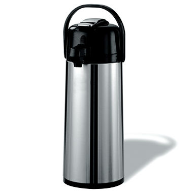 2.2l Pump Flask with glass inner