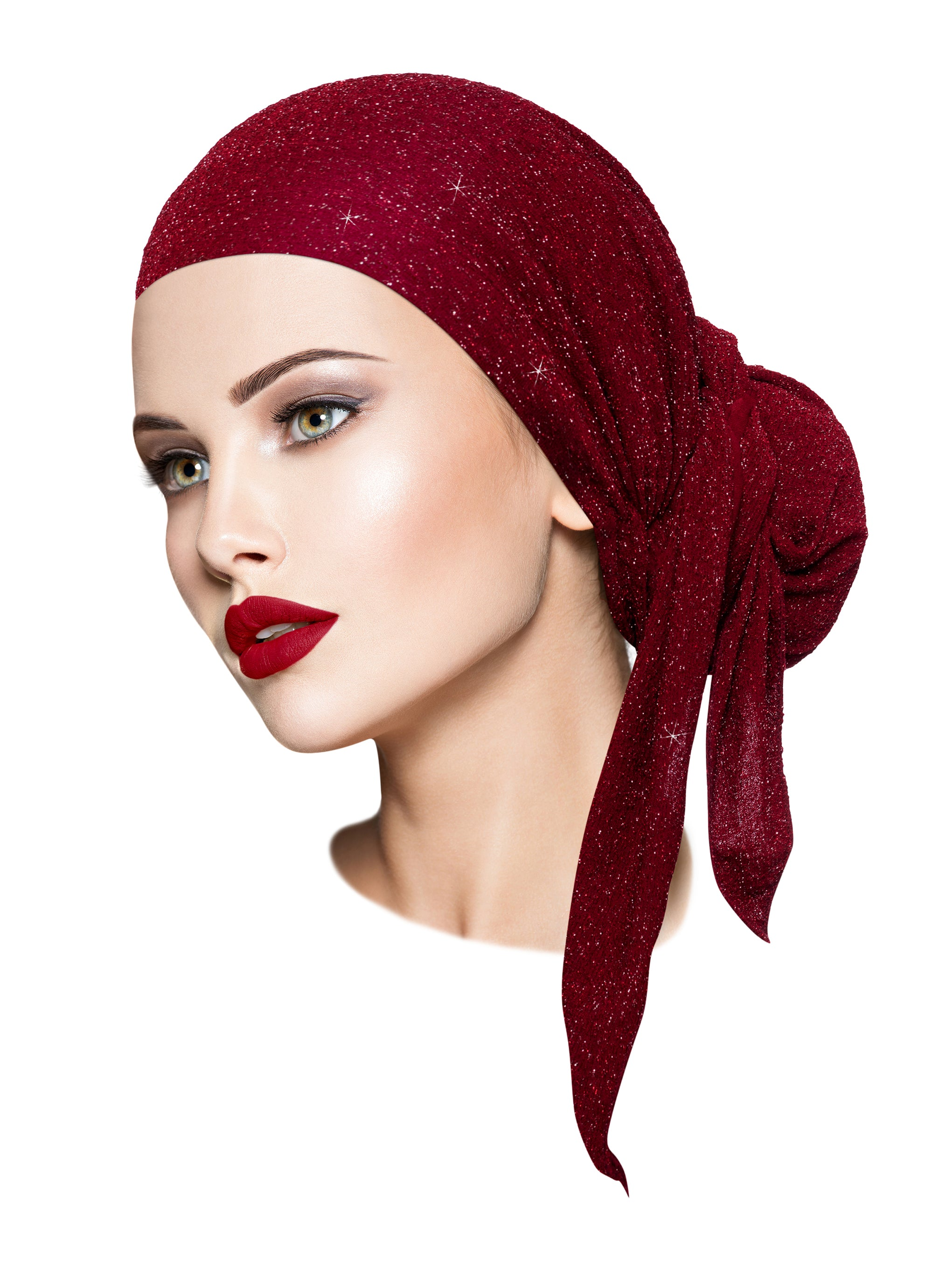 Headscarf with sparkle