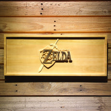 The Legend of Zelda Wooden Sign