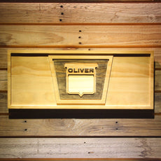 Oliver Tractor Wooden Sign