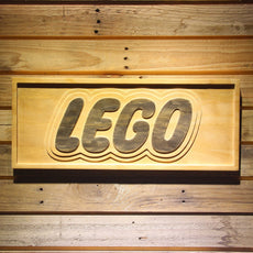 Lego Wooden Sign