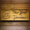 New York Yankees Wooden Sign