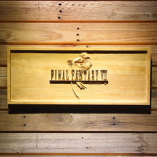 Final Fantasy VIII Wooden Sign