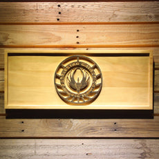 Battlestar Galactica BSG 75 Wooden Sign