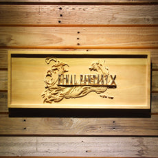 Final Fantasy X Wooden Sign