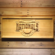 Washington Nationals Wooden Sign