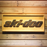 Ski-Doo Wooden Sign