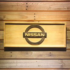Nissan Wooden Sign