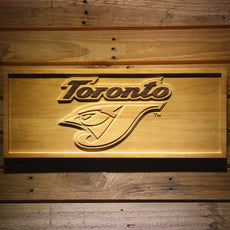 Toronto Blue Jays 2 Wooden Sign