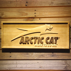 Arctic Cat Wooden Sign