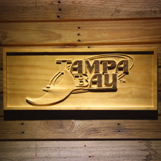 Tampa Bay Rays Wooden Sign