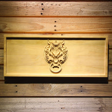 Final Fantasy VII Fenrir Wooden Sign