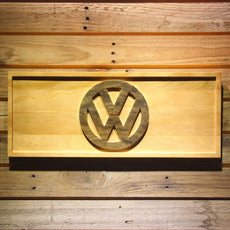 Volkswagen Wooden Sign