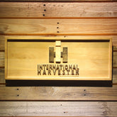 International Harvester Wooden Sign