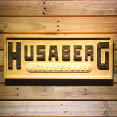 Husaberg Wooden Sign