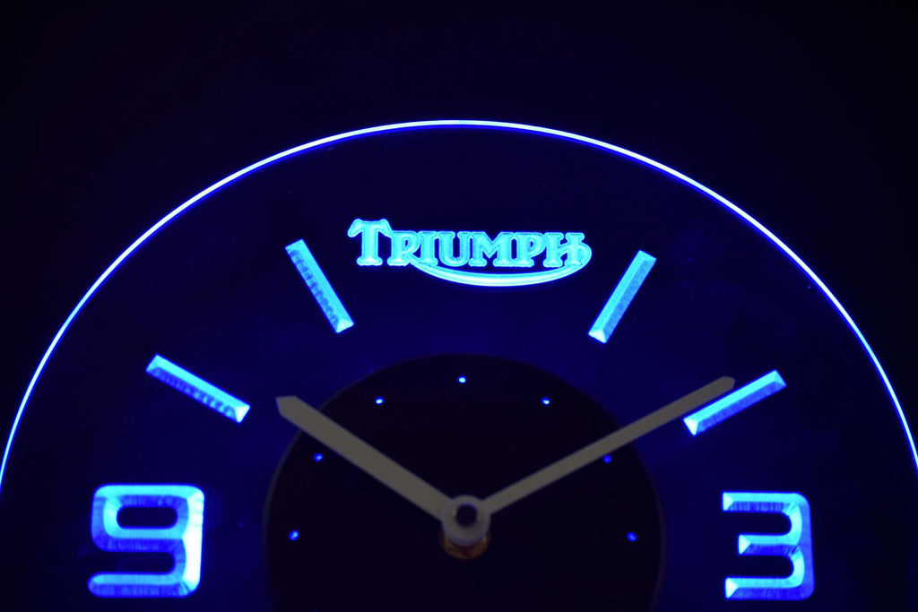Triumph LED Clock