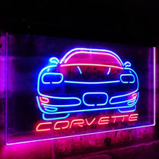Corvette Duo LED Sign
