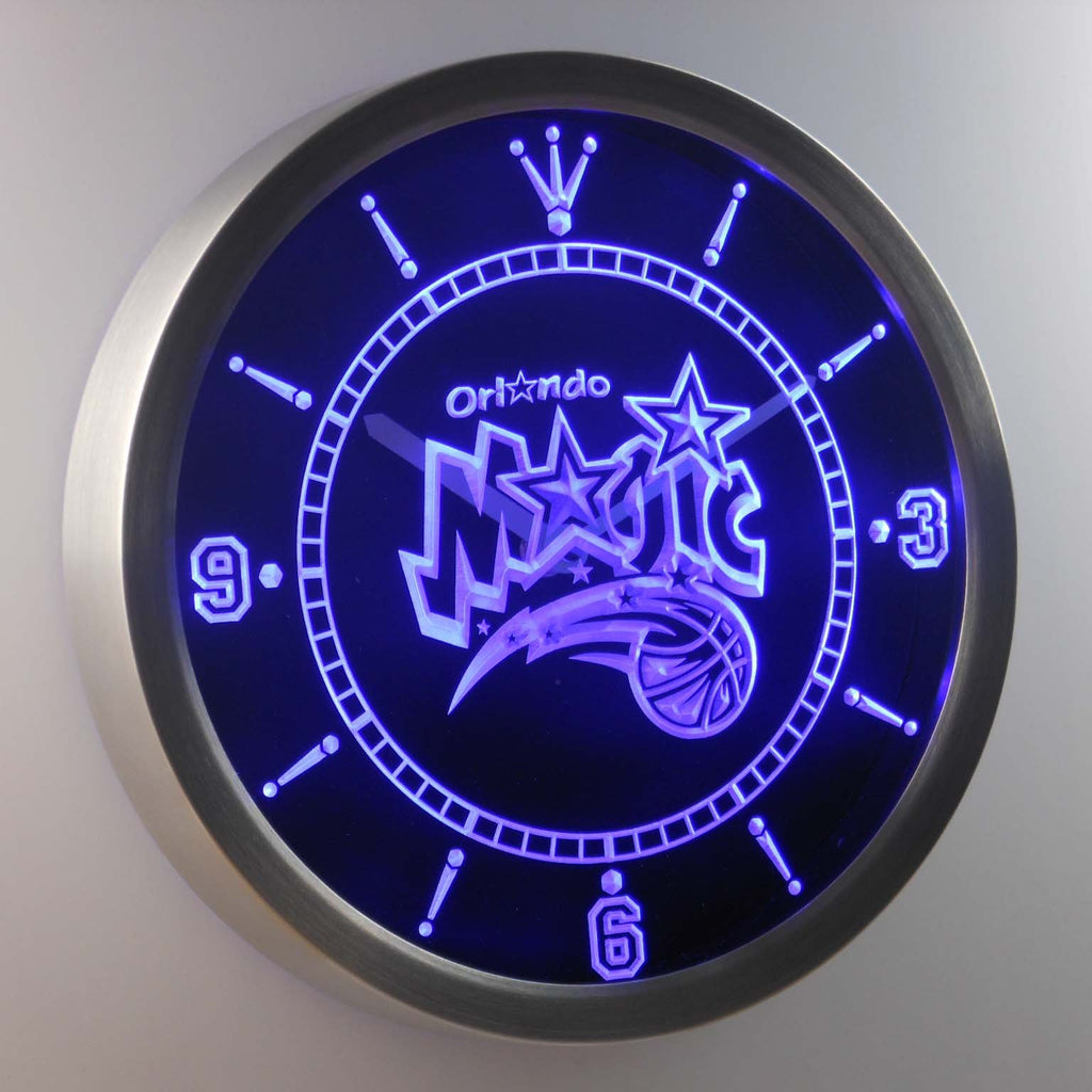 Orlando Magic LED Wall Clock