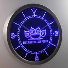 Five Finger Death Punch LED Wall Clock