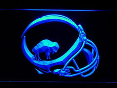 Buffalo Bills 1965-1973 Helmet LED Sign