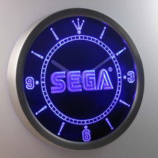 Sega LED Wall Clock