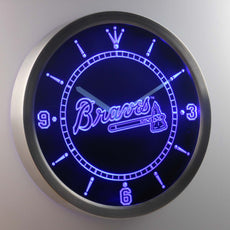 Atlanta Braves LED Wall Clock