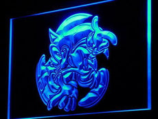 Sonic The Hedgehog LED Sign