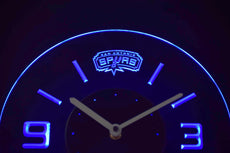 San Antonio Spurs LED Clock