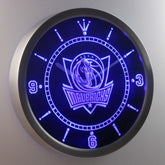 Dallas Mavericks LED Wall Clock
