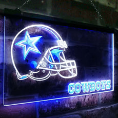 Dallas Cowboys Duo LED Sign