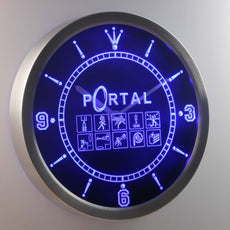 Portal LED Wall Clock