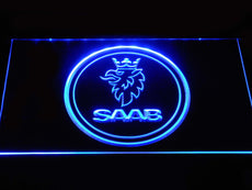 Saab Automobile 2 LED Sign