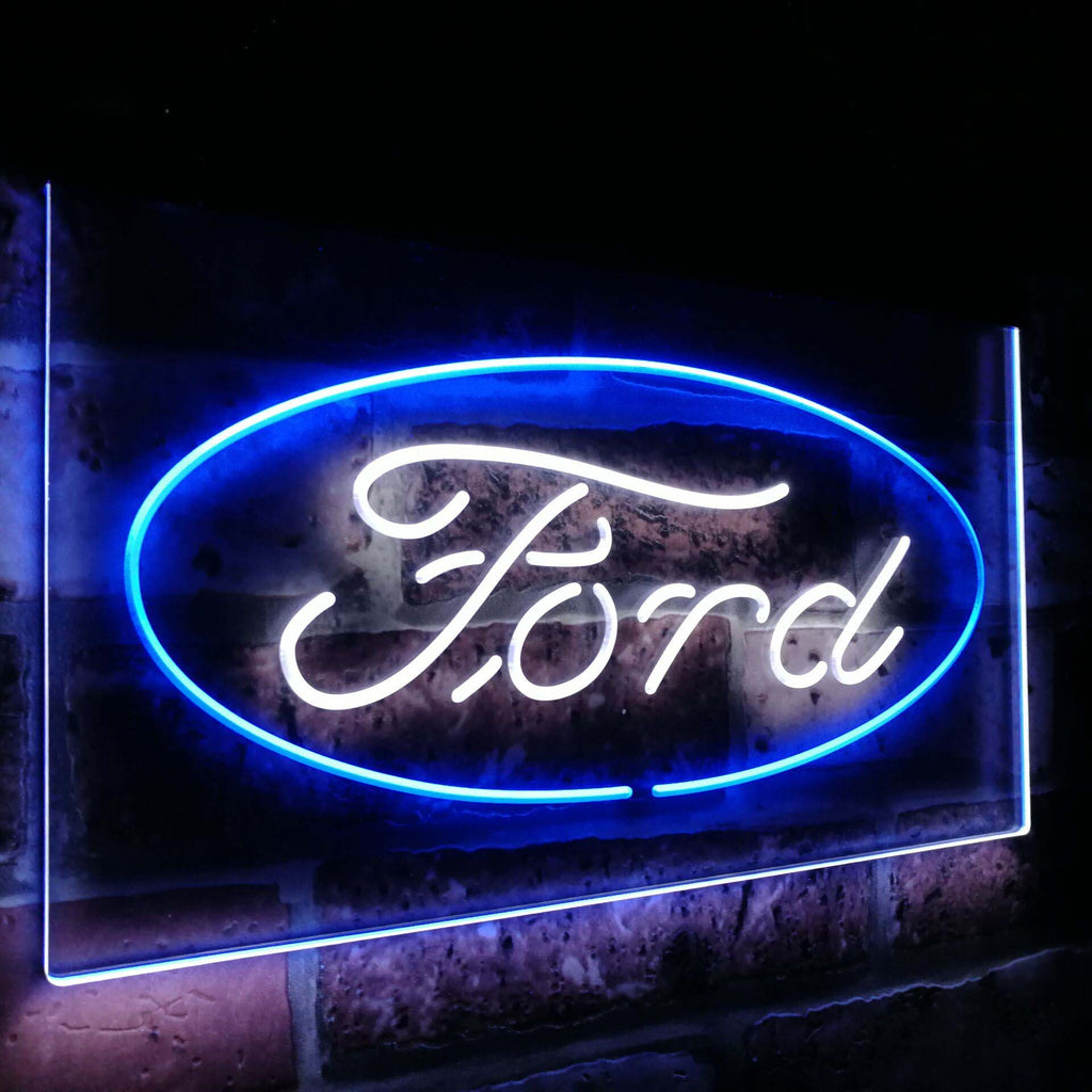 Ford Badge Duo LED Sign