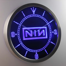 Nine Inch Nails LED Wall Clock