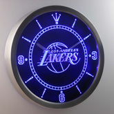 Los Angeles Lakers LED Wall Clock