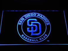 San Diego Padres Badge LED Sign