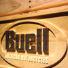 Buell Motorcycle Company Wooden Sign