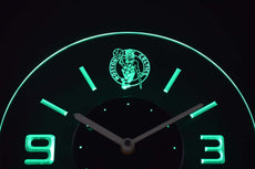 Boston Celtics LED Clock