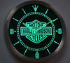 Harley-Davidson LED Wall Clock